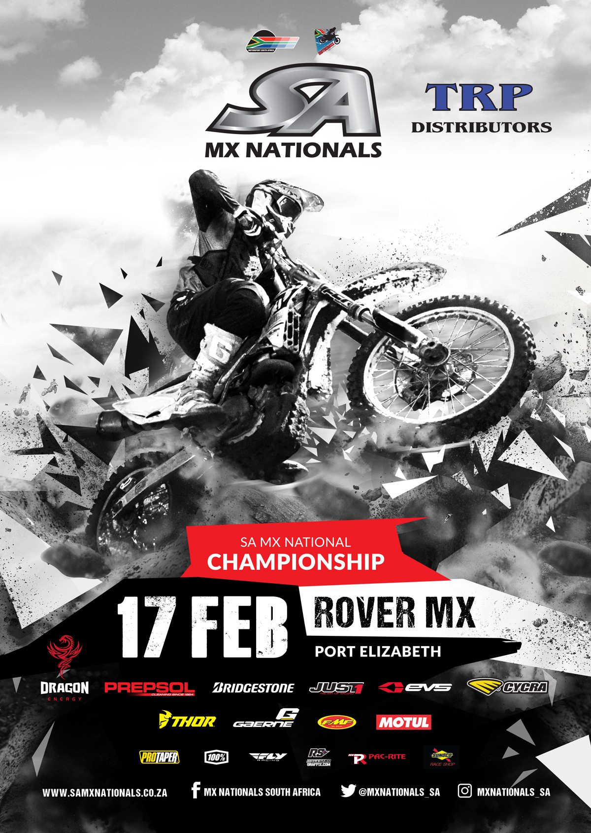 Details for Round 1 on the 2018 SA Motocross Nationals