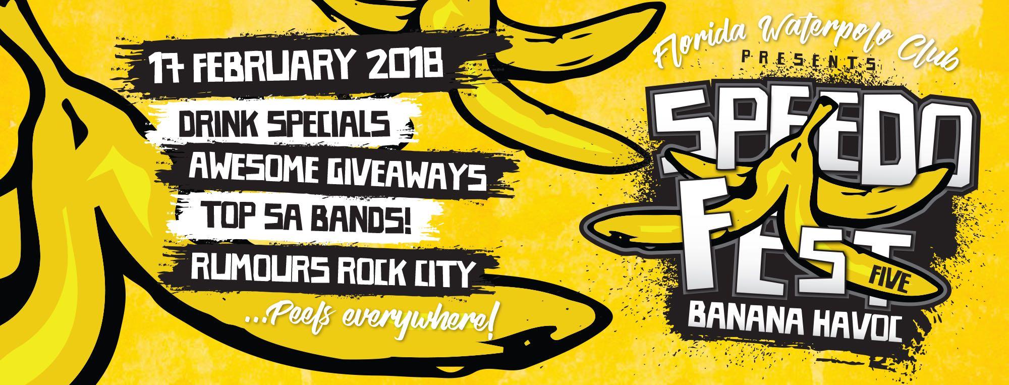 Details for Speedofest 5 Banana Havoc Music Festival