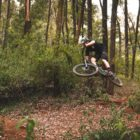Sam Bull riding his 2018 Santa Cruz Bronson Enduro MTB