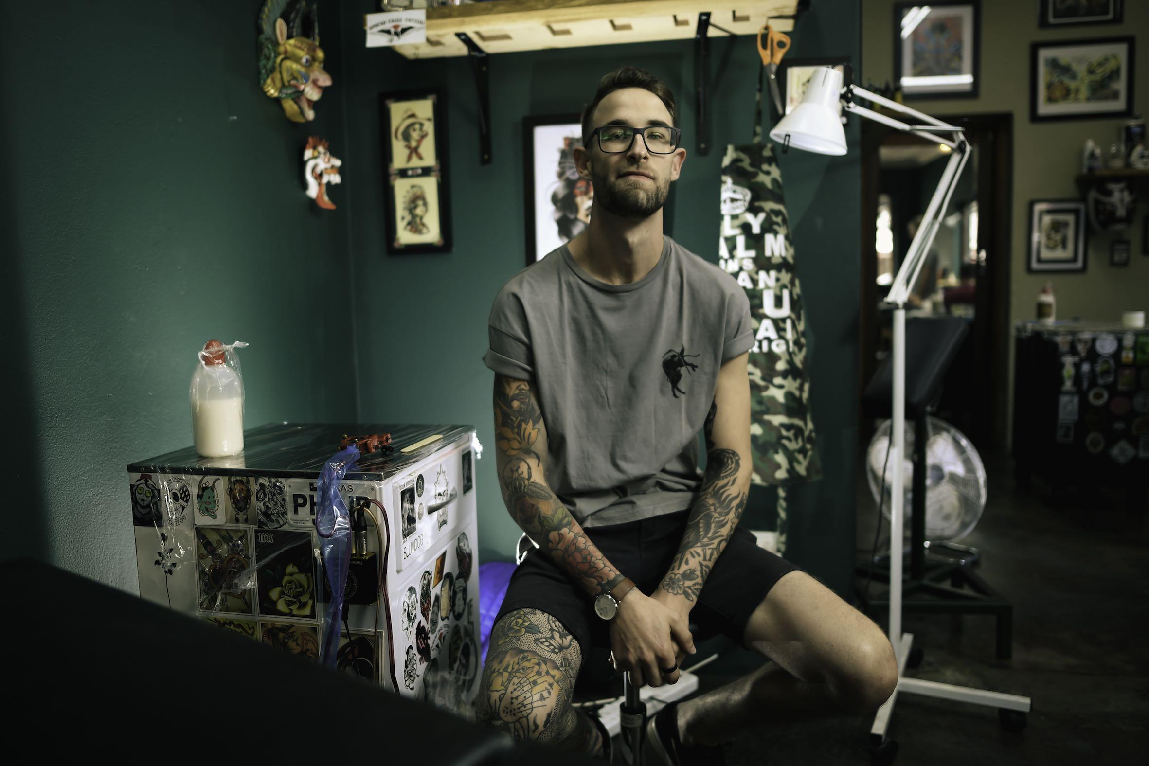 Meet Phillip Wells as our Tattoo Artist of the Week