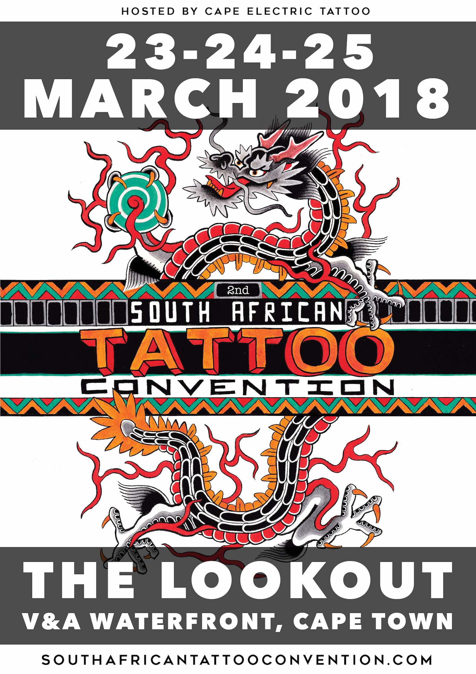 2018 South African International Tattoo Convention
