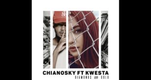 ChianoSky has released with her new single titled Diamonds and Gold featuring rapper, Kwesta. Take a listen to it here.