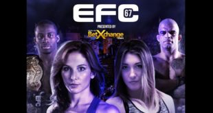 MMA action coming to Carnival City with EFC 67