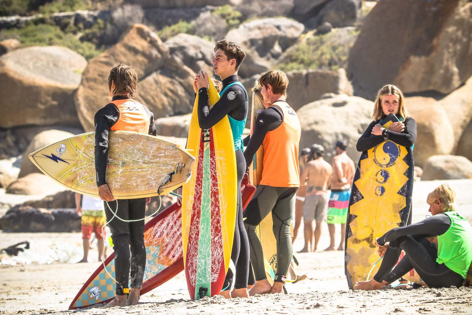 Review from the 2018 Rolling Retro surfing event