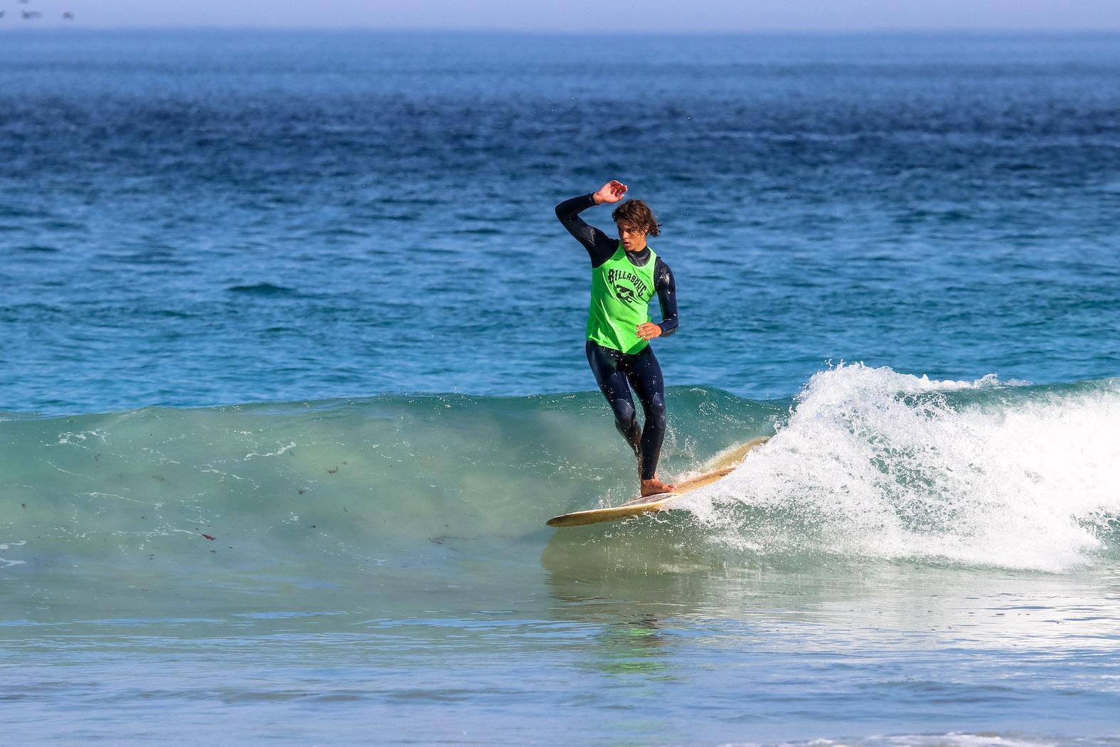Surfing skills showcased at Rolling Retro Reggae Revival