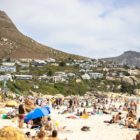 A packed beach from the Rolling Retro Reggae Revival surfing event