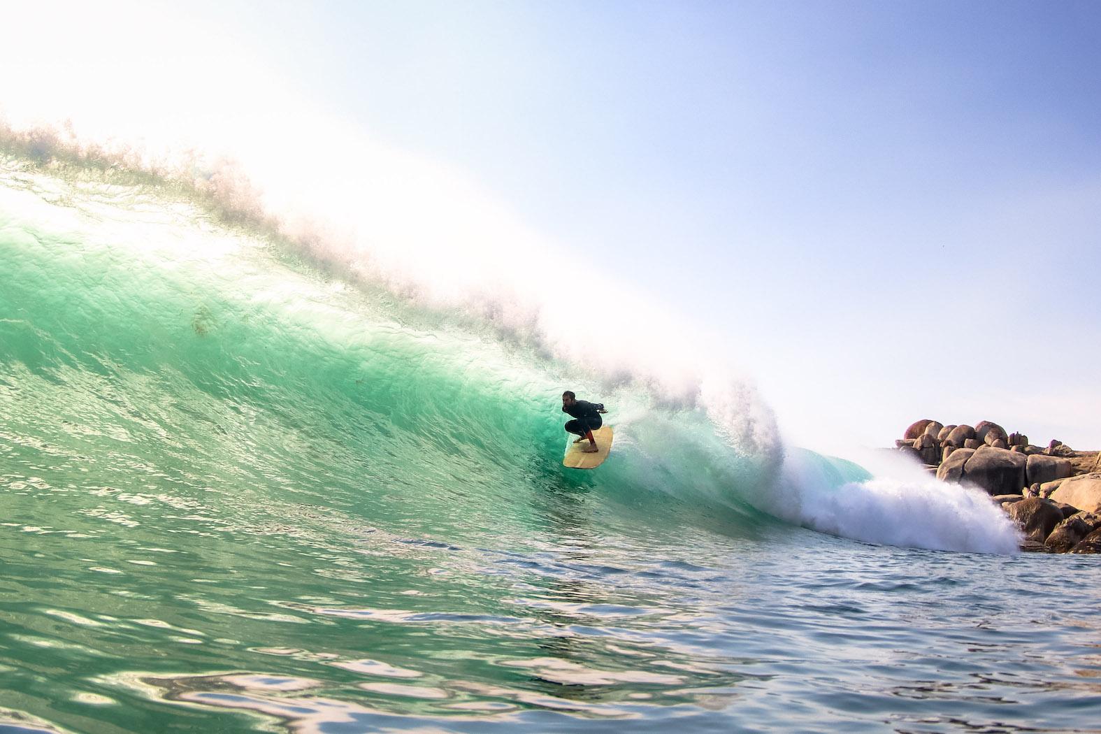 Barel surfing from Rolling Retro Reggae Revival 2018