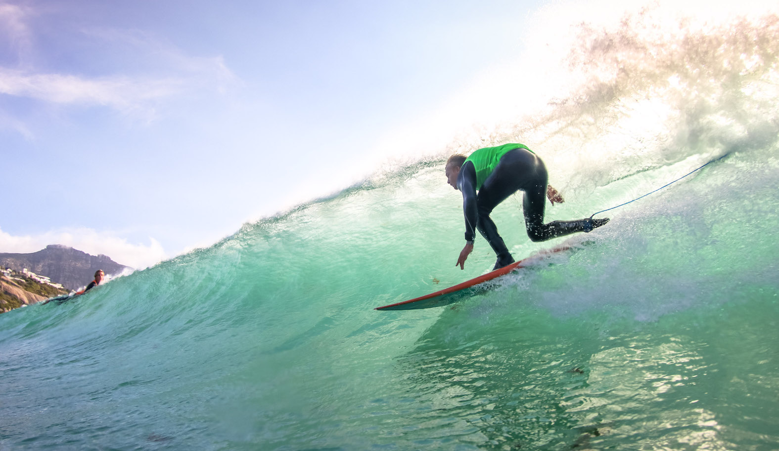 Rolling Retro Reggae Revival surfing event from Llandudno Beach