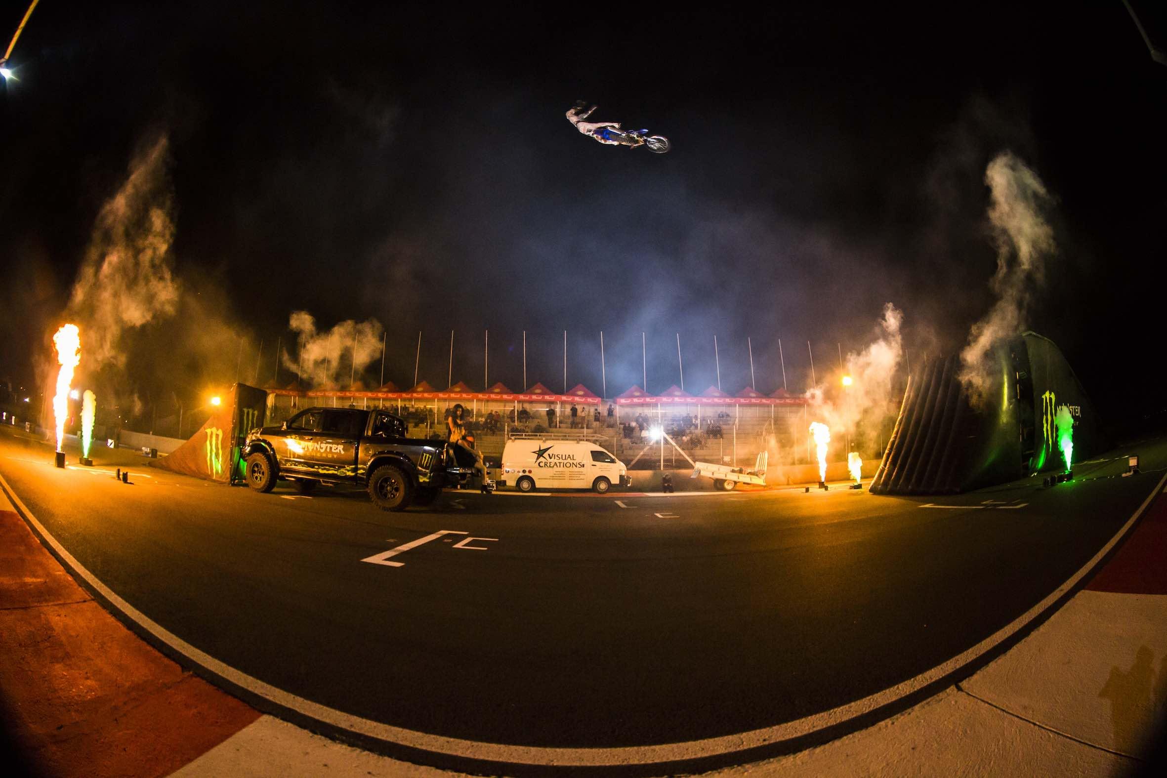 Monster Energy Flight Night at South Africa Bike Fest 2018