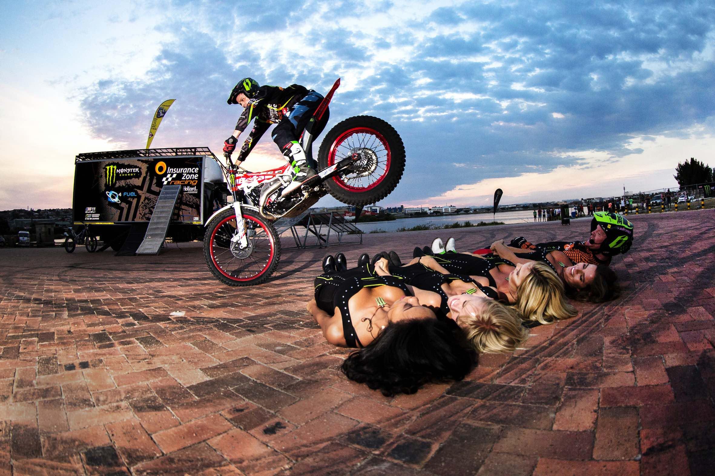 Le Riche Trial Biking Show at the 2018 SA Bike Fest