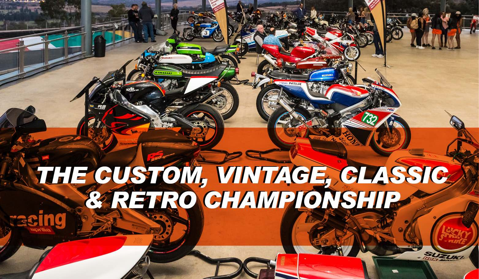 The RocoMamas The Custom, Vintage, Classic and Retro Motorcycle Championship at SA Bike Fest