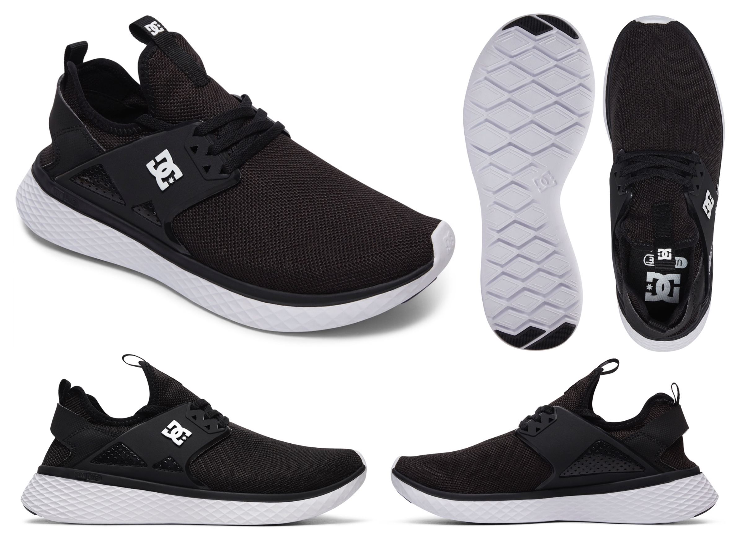 Product feature on the new DC Meridian sneakers
