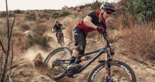 Product feature on the all-new The All-New FOX Flux Trail Mountain Bike Helmet