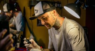 Specialising in freehand lettering, calligraphy, graffiti, as well as black and grey work, we bring you Duran Niemach as our featured Tattoo Artist.
