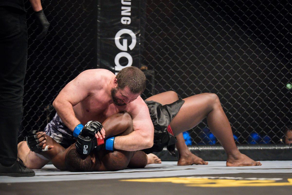 Nico Yamdjie vs Kevin Koekemoer at EFC 69
