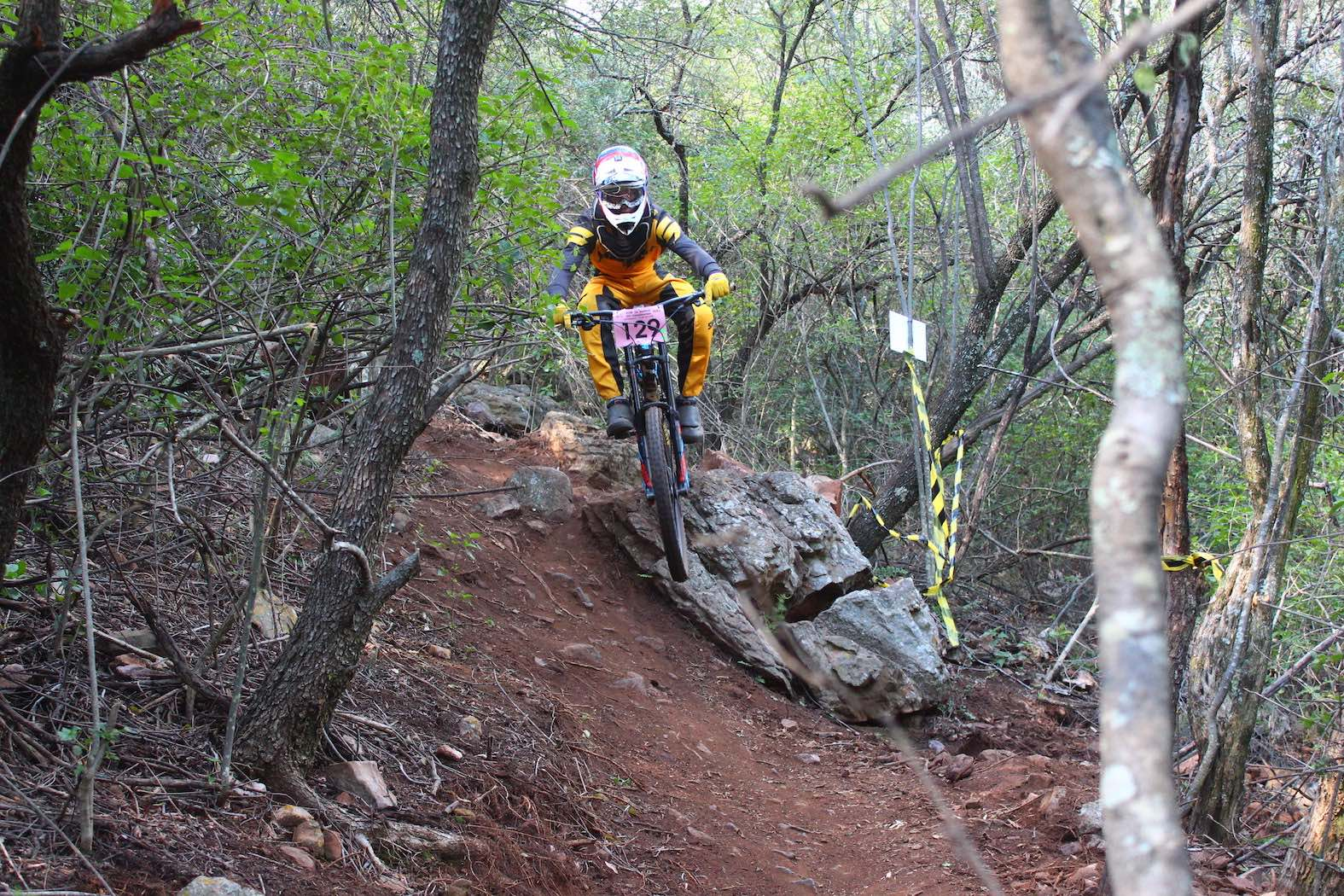 Downhill MTB action from the Hartbeespoort Adventure and Trail Park