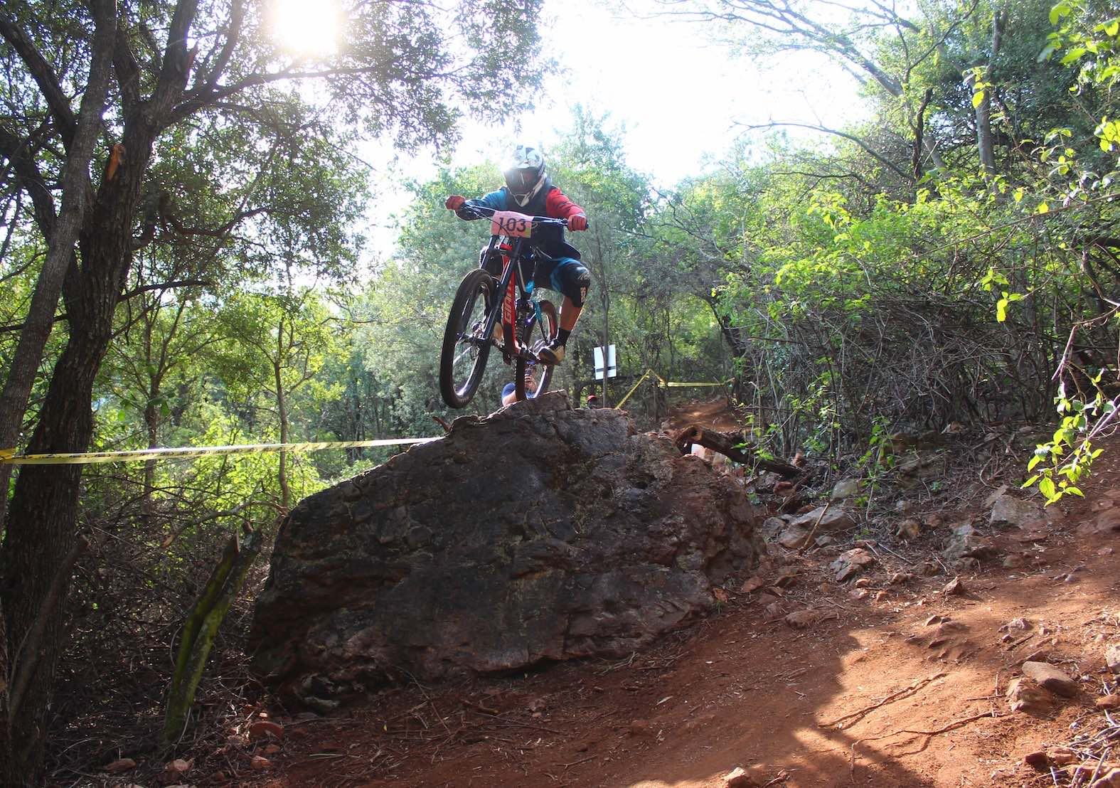 Race report from the 2018 SA Downhill MTB Championships
