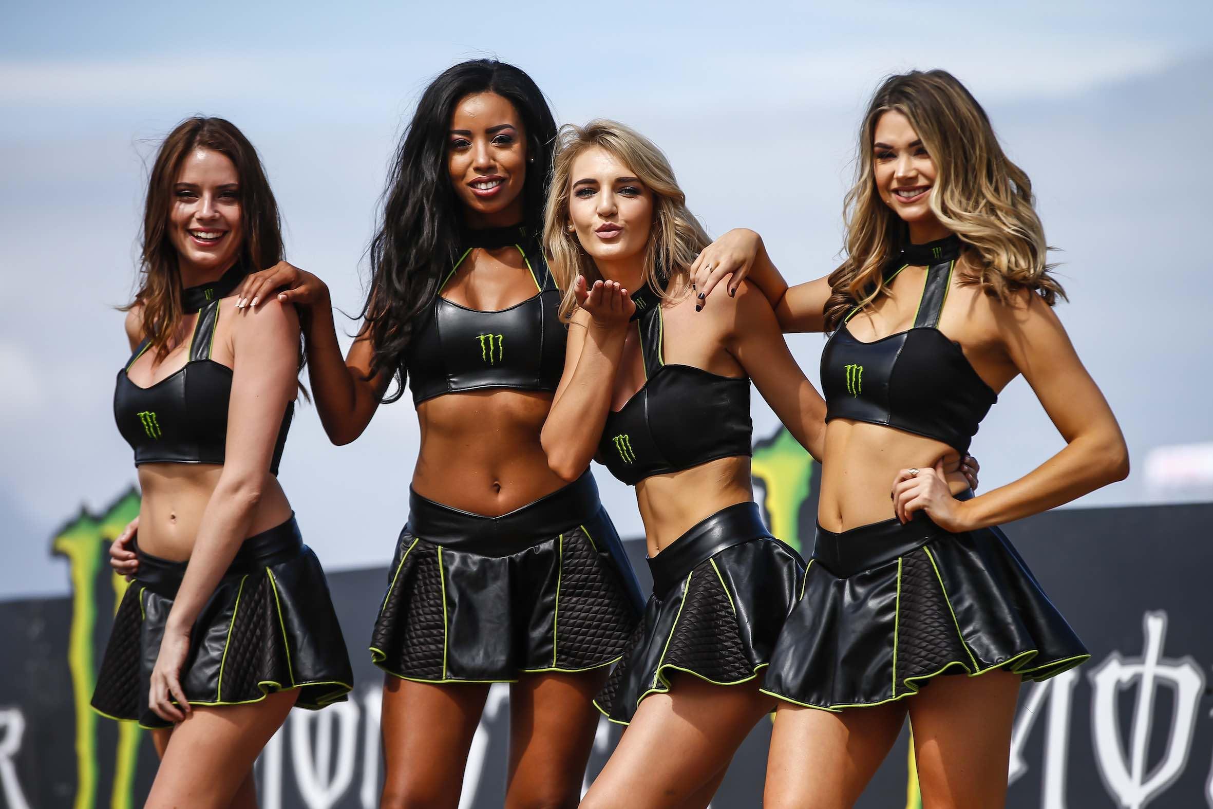 Monster Energy girls at the 2018 SA Bike Fest