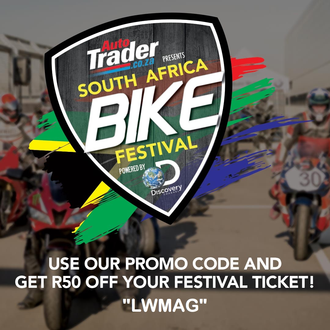 Exclusive discount on South Africa Bike Fest tickets