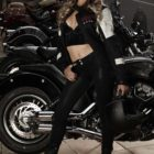 Jade Wilson features as our Indian Motorcycle Vixen