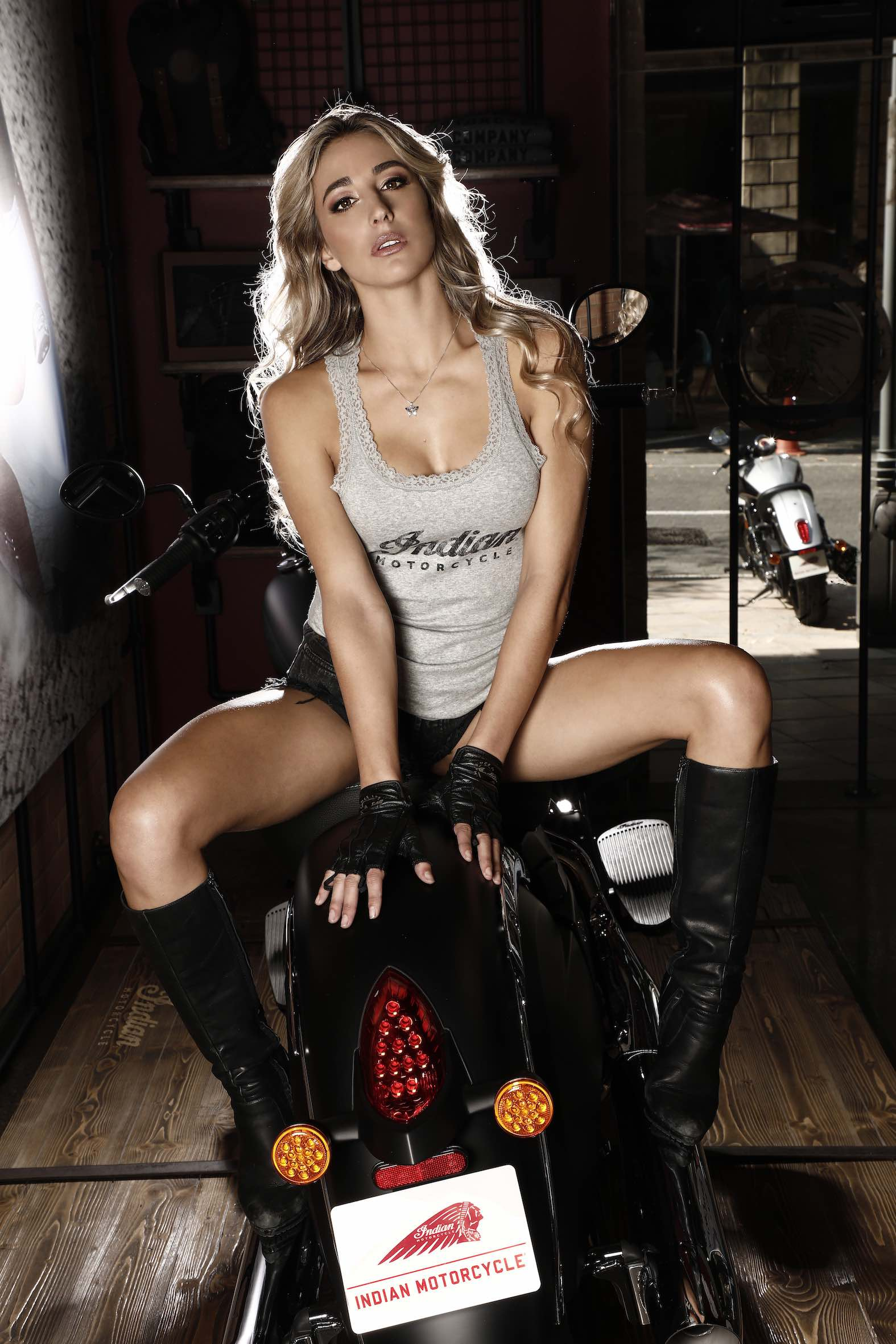Meet Indian Motorcycle Vixen Jade Wilson at the 2018 SA Bike Fest