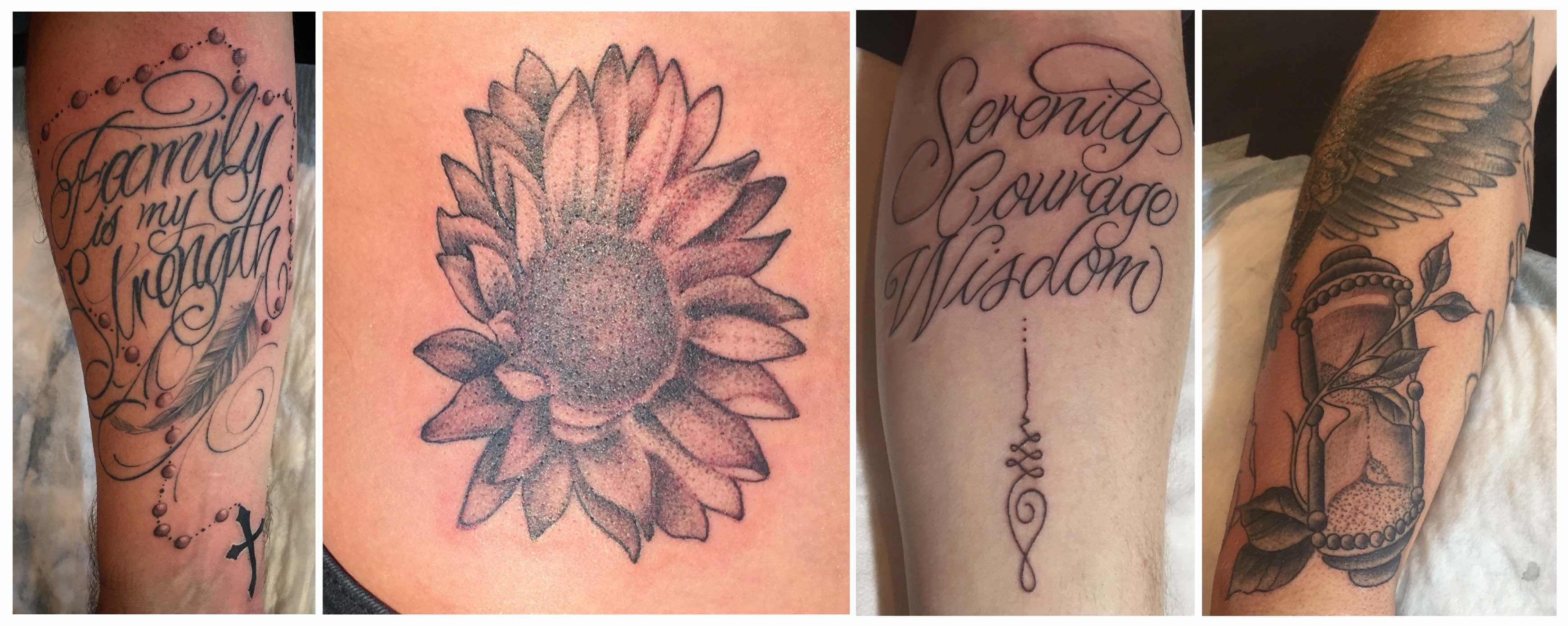 Tattoos done by Duran Niemach of SA Hardcore Social Club