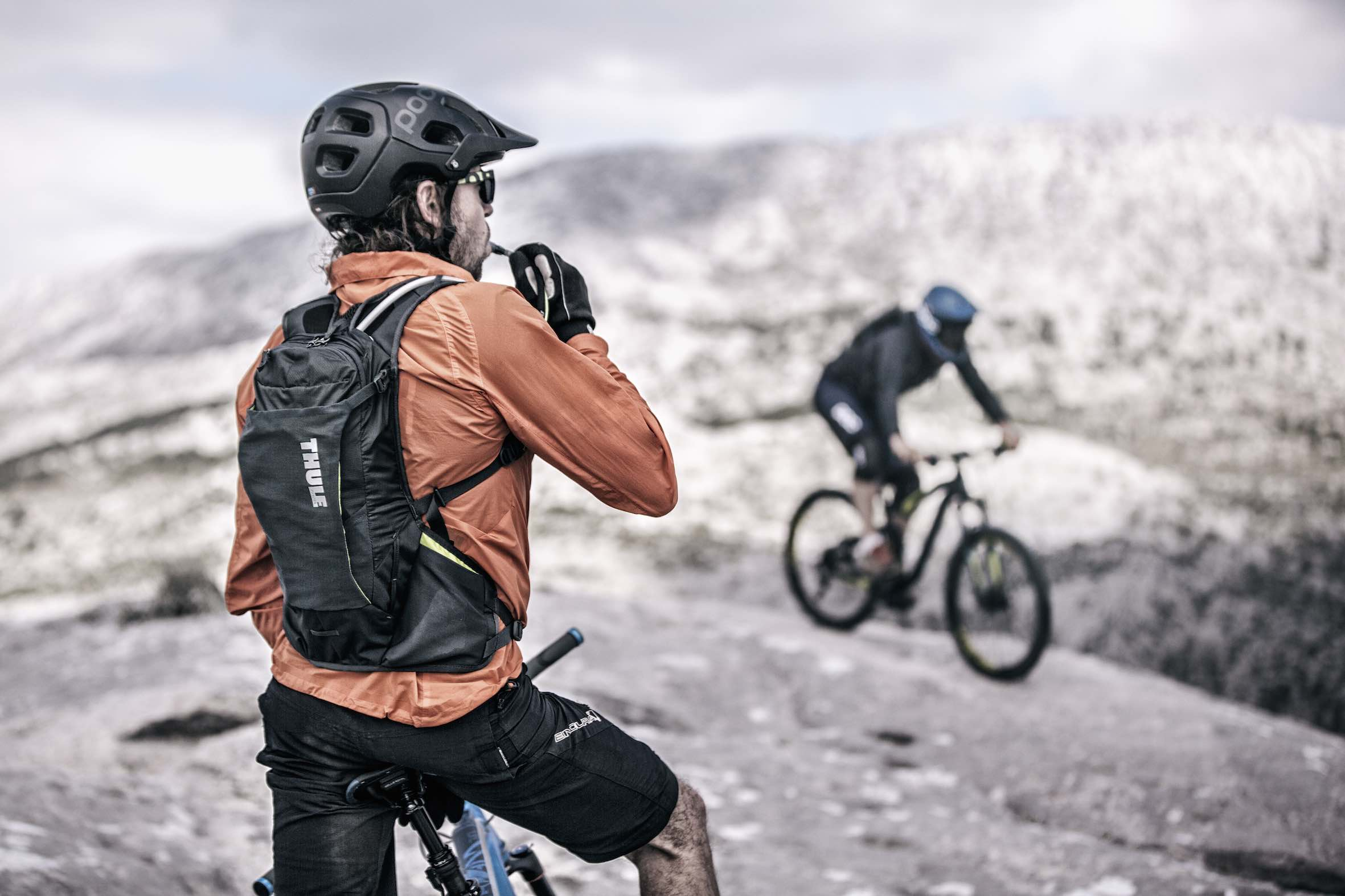 Introducing the new Thule bike hydration backpacks - the Thule Vital collection perfect for Enduro mountain biking