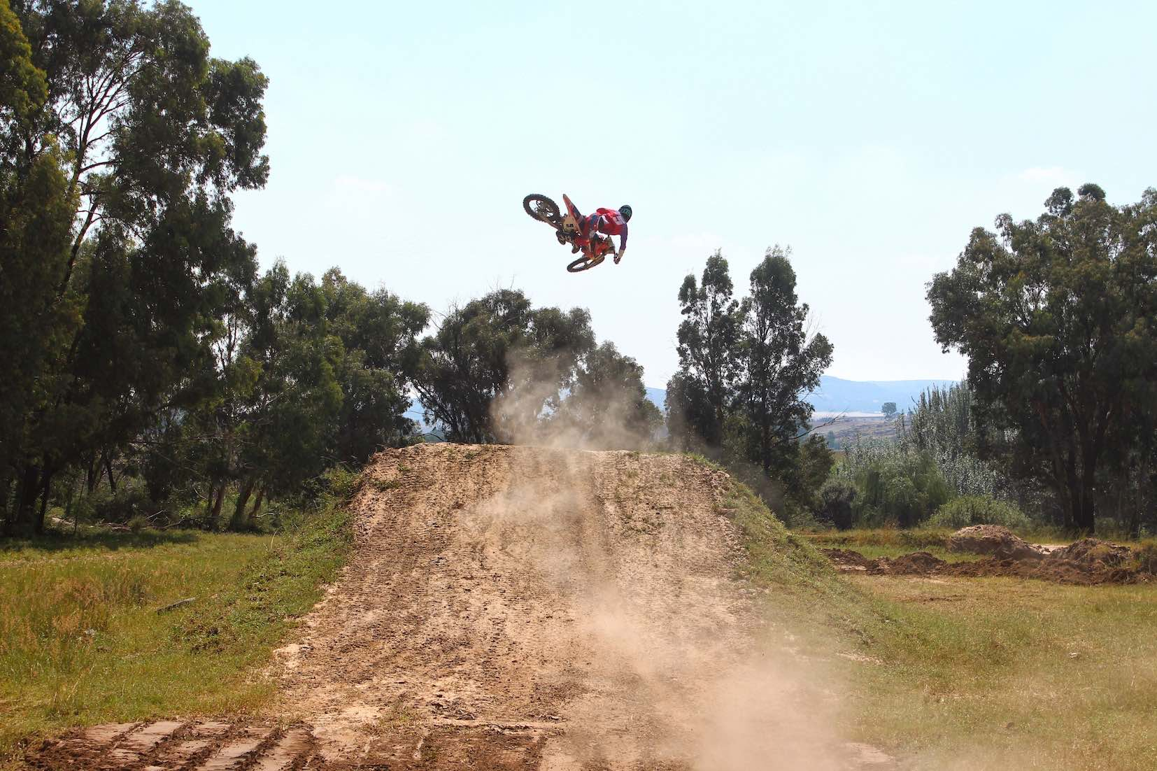 Joshua Mlimi features in the #60to1 motocross video