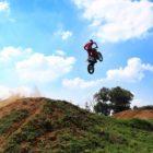 Joshua Mlimi riding the KTM 125cc motocross bike