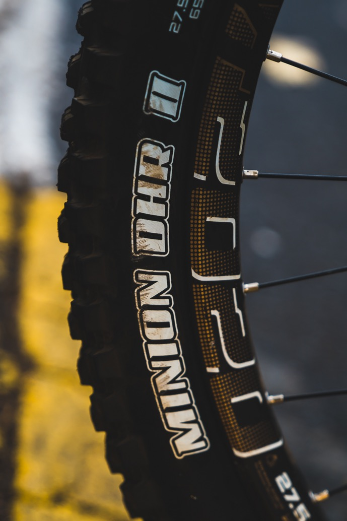 Theo Erlangsen's Championship Winning YT Industries TUES Bike Check - Tyres