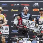 Round 3 of the MX Nationals MX1 podium