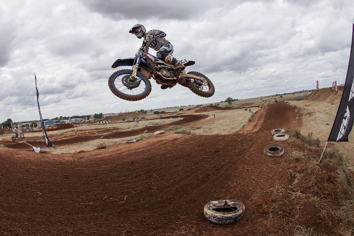 Racing action from Round 3 of the 2018 TRP Distributors SA Motocross National Championship