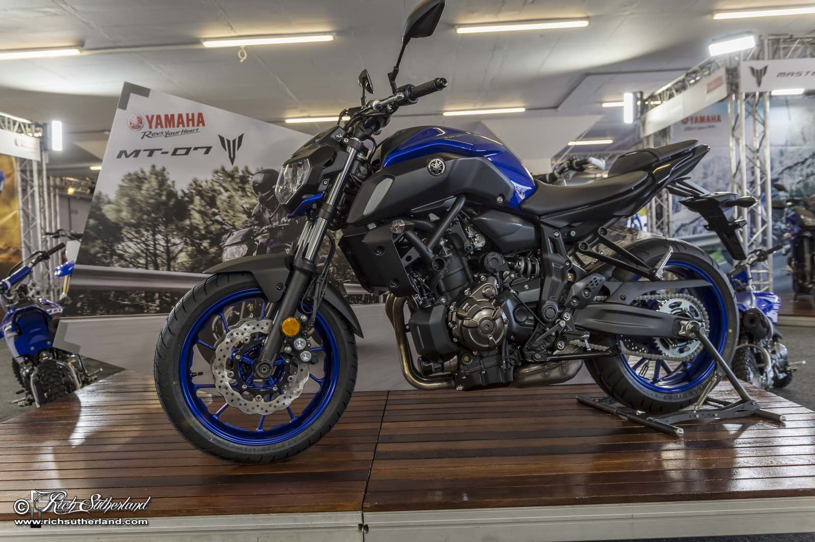 Yamaha representing at the 2018 SA Bike Fest
