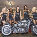 The Indian Motorcycle Vixens at the 2018 South Africa Bike Festival