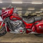 Indian Motorcycle representing at the 2018 South Africa Bike Festival