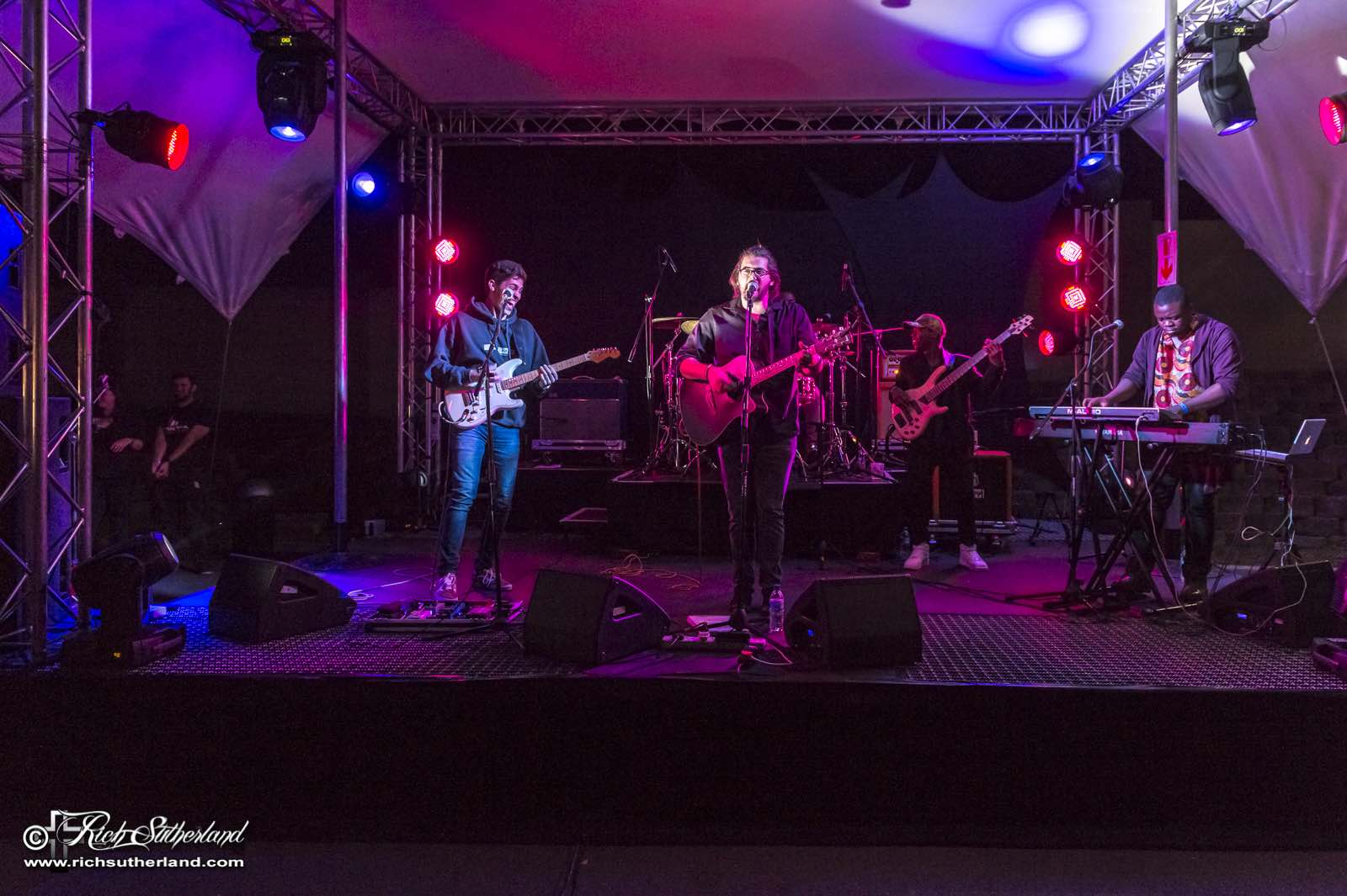 A selection of local bands performing at the SA Bike Festival
