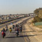 RAMBO Blanket Charty bike run ti Kyalami for the SA Bike Fest