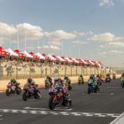 SuperGP racing taking place at the 2018 SA Bike Fest