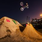 Kyle Baldock winning the Night Harvest 2018 BMX event