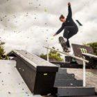 Brandon Valjalo Skateboarding in the ULT.X 2018 finals
