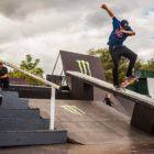 Zander Gabriel Skateboarding in the ULT.X 2018 finals