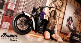 Meet Indian Motorcycle Vixen Keipeile Dintoe
