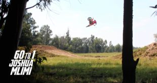 Joshua Mlimi steps back onto the 125cc motocross bike and absolutely shreds a local private track for #60to1 - Turn your sound up and watch this.
