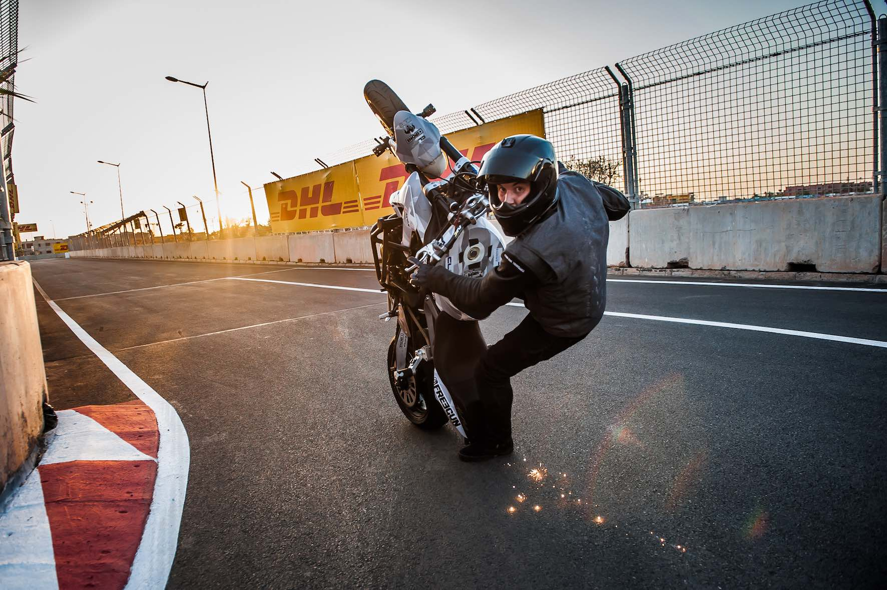 South Africa Bike Festival visitors can expect to see explosive freestyle performances per day from international Stunt & Wheelie Champion, Julien Welsch.
