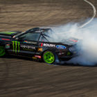 Jason Webb drifting his way to 2nd place at Round 1 of the 2018 Supadrift Series