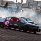 Drifting action from Round 1 of the 2018 SupaDrift Series from Carnival City