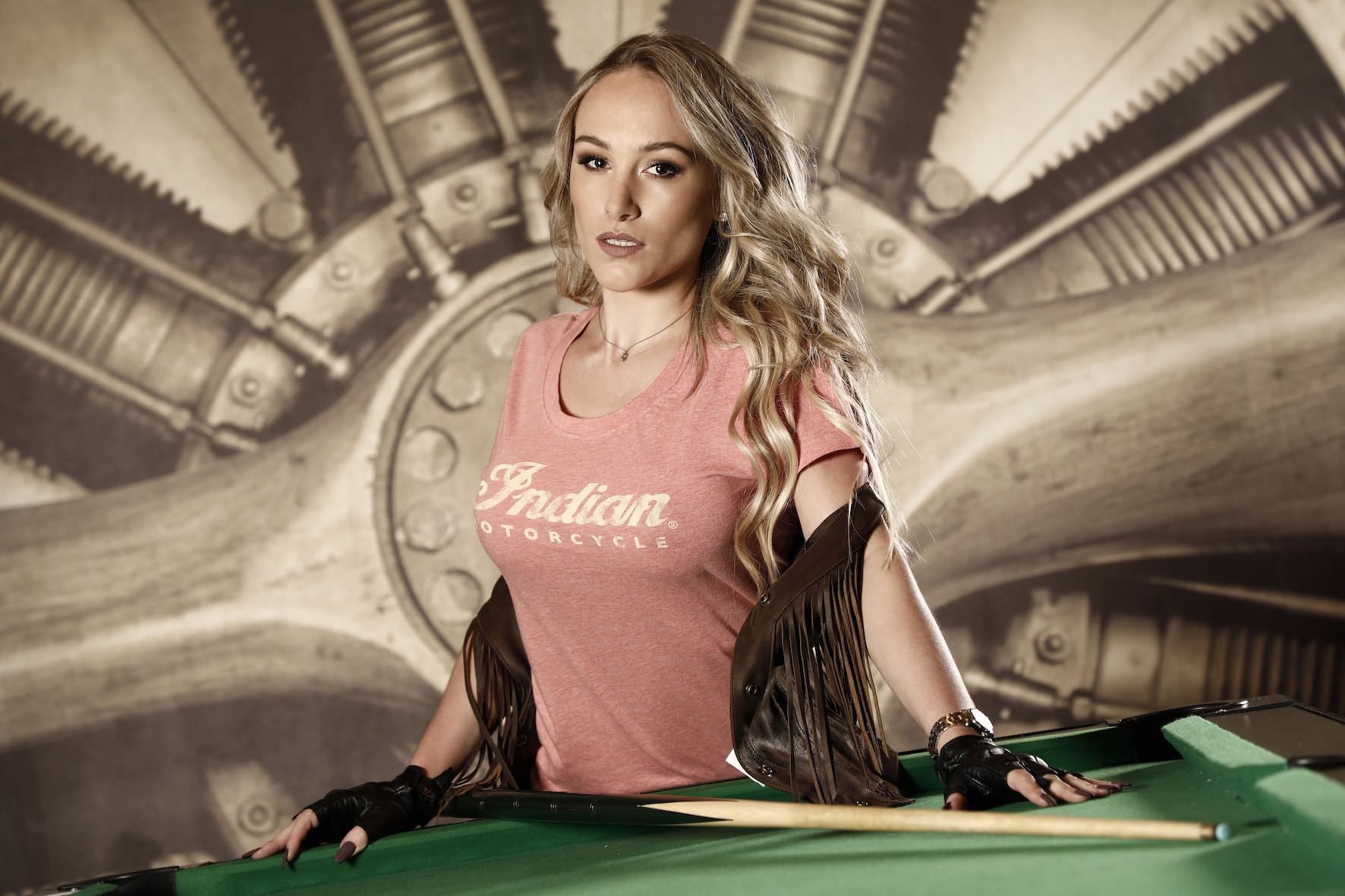 Meet Kelly Roux at the 2018 SA Bike Fest as one of the Indian Motorcycle Vixens