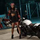 Mandy Kgobe features as our Indian Motorcycle Vixens