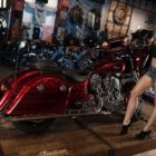 Meet the Indian Motorcycle Vixens, Carmi Wilmans