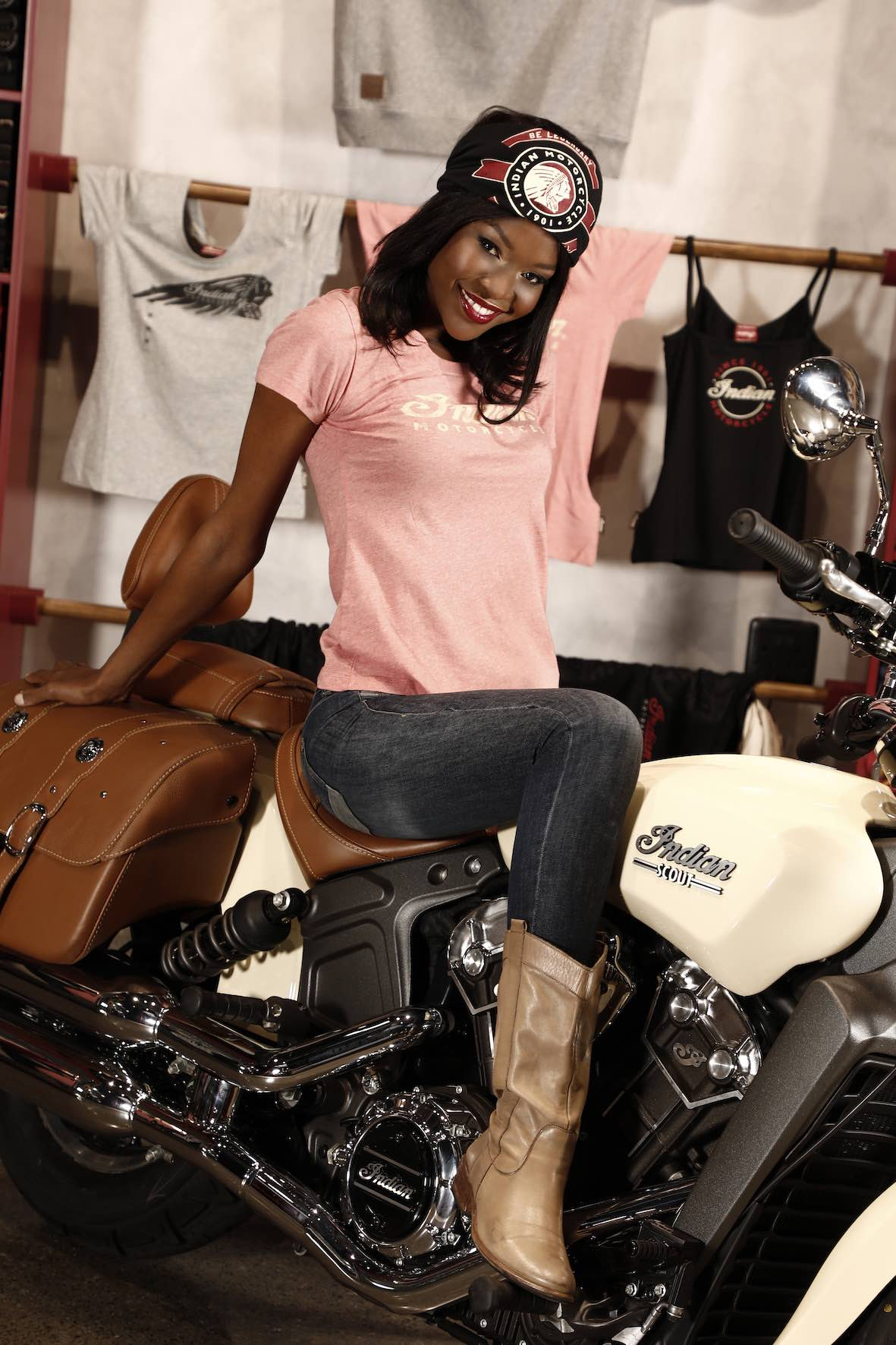 Meet Keipeile Dintoe and the Indian Motorcycle Vixens at the 2018 SA Bike Fest